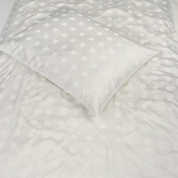 Bettbezug Würfel elfenbein