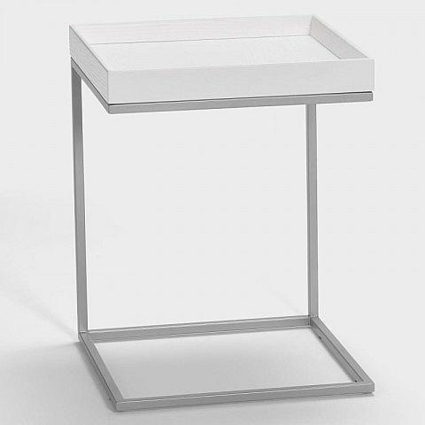 beistelltisch mit abnehmbarem tablett biber umweltprodukte versand. Black Bedroom Furniture Sets. Home Design Ideas