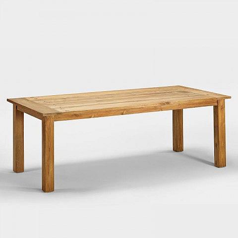 tisch recyceltes teakholz. Black Bedroom Furniture Sets. Home Design Ideas