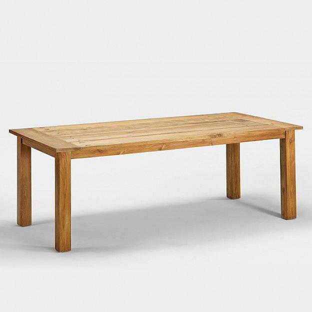 Tisch recyceltes Teakholz