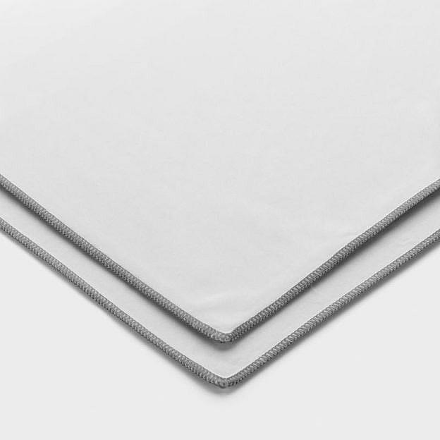 2 Glaspoliertücher aus Mikrofaser