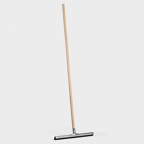 wasserschieber stahl 50 cm mit stiel biber umweltprodukte versand. Black Bedroom Furniture Sets. Home Design Ideas