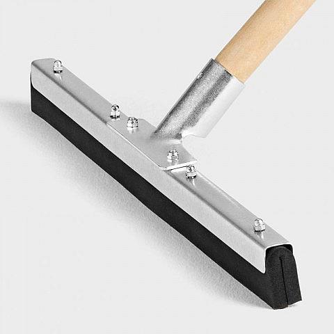 wasserschieber stahl 50 cm mit stiel. Black Bedroom Furniture Sets. Home Design Ideas