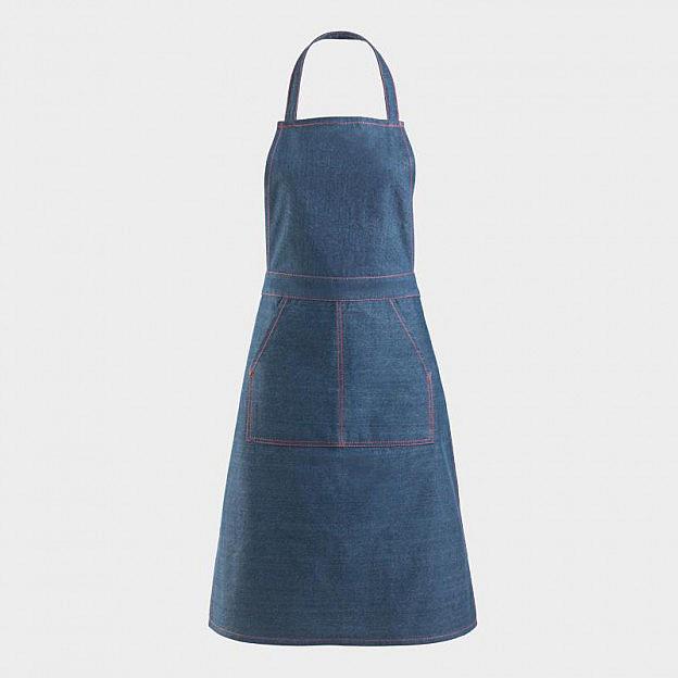 Kochschürze Jeansstoff