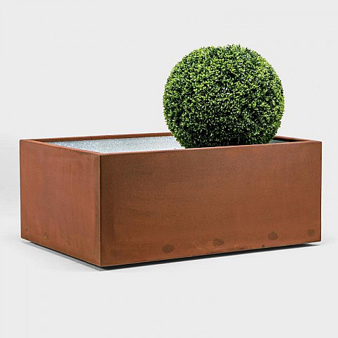 pflanzgef quader cortenstahl. Black Bedroom Furniture Sets. Home Design Ideas