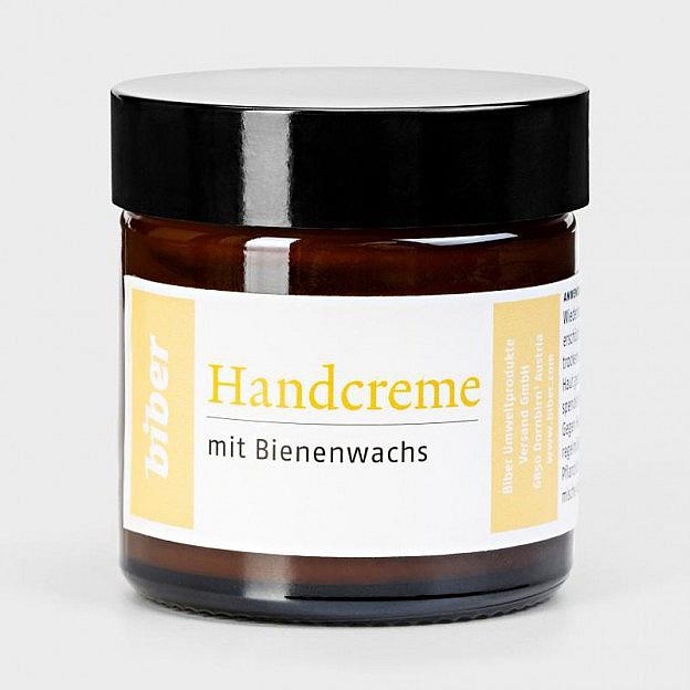 Handcreme mit Bienenwachs und Urea