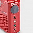 Roberts-Solar-Digitalradio DAB+/UKW, rot