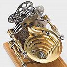 Kugelbahn zu Stirlingmotor