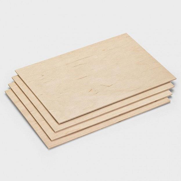 4 Laubsägevorlagen Birkensperrholz