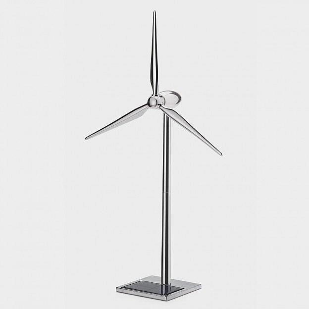 Solar-Windgenerator Aluminium