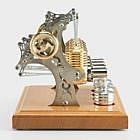 Sterlingmotor 4-Zylinder, Fertigmodell