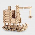 Konstrukionsspiel Blockbau, 500 Teile