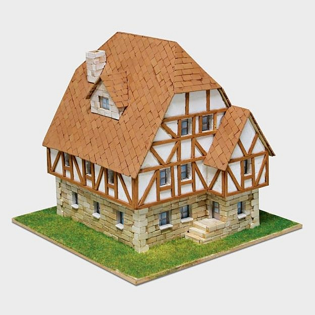 Steinbaukasten Fachwerkhaus