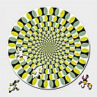 Holzpuzzle optische Täuschung