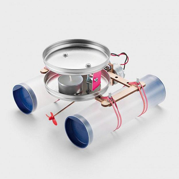Kerzenboot mit thermoelektrischem Antrieb, Bausatz