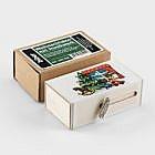 Weihnachtsbox mit Musikwerk