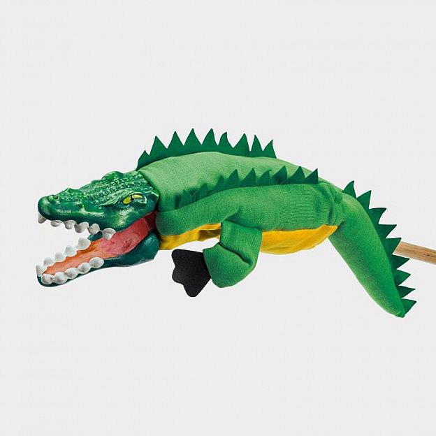 Handspielfigur Krokodil