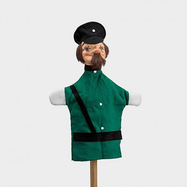 Handspielfigur Polizist