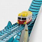 Bergbahn Stahlblech
