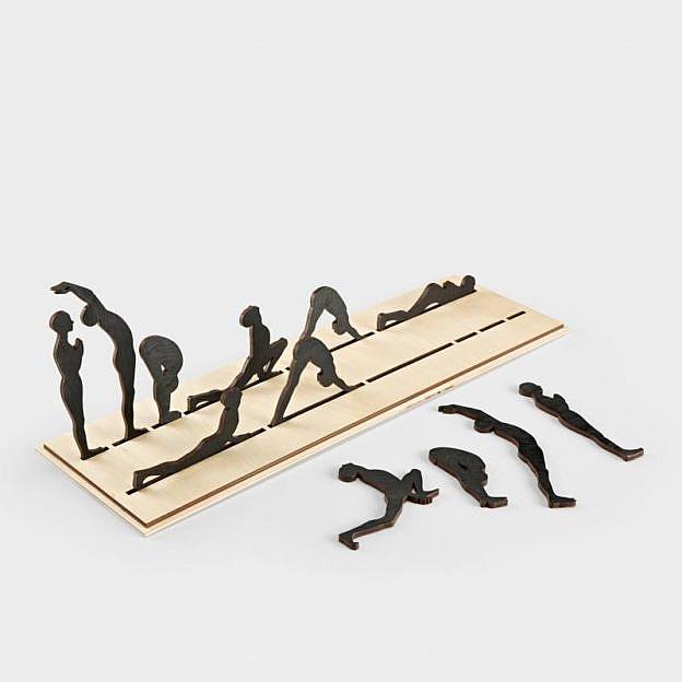 Yoga-Board Sonnengruß, Birke