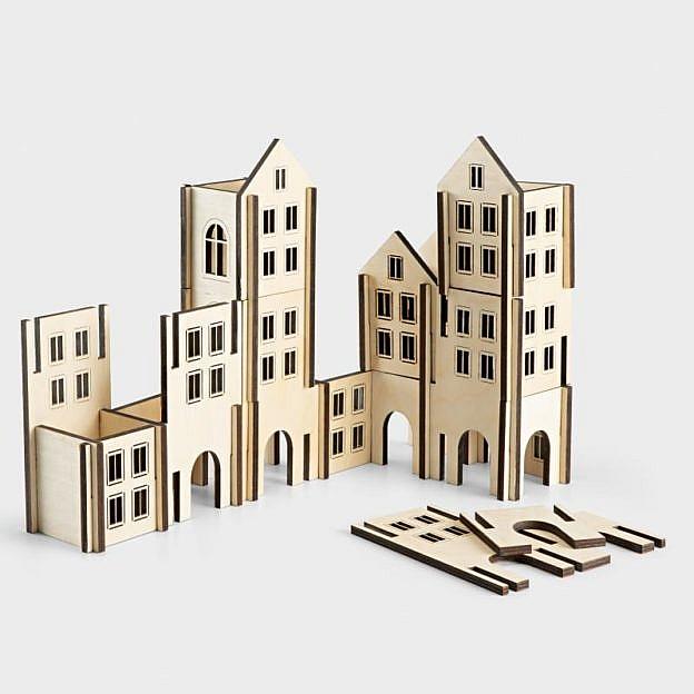 Häuserkonstruktionsspiel, Birke
