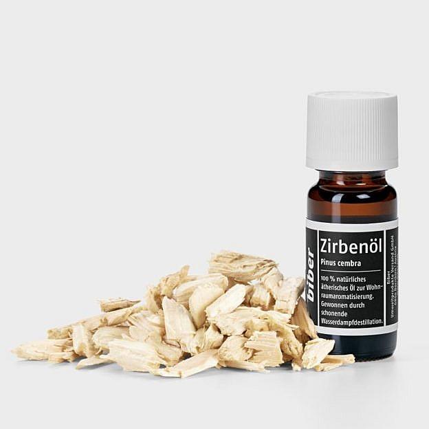 Zirbenholzspäne (Arve) mit Zirbenholzöl