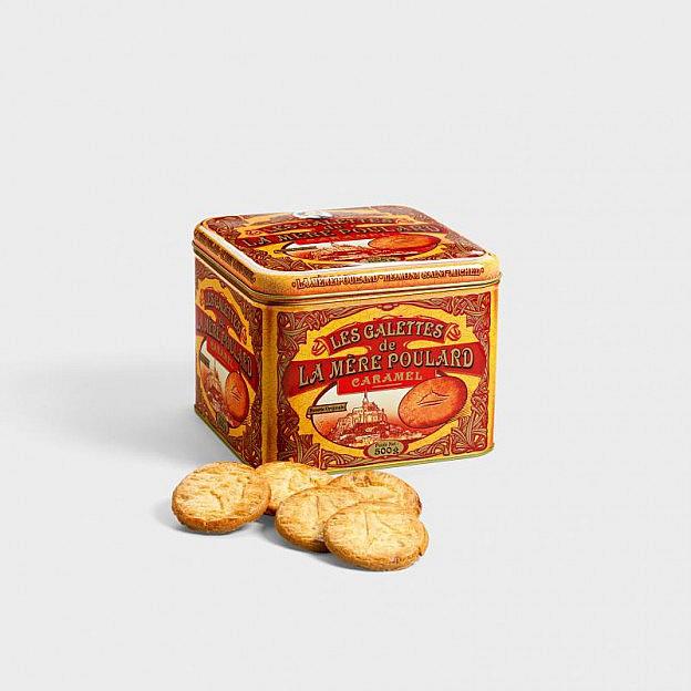 Biscuites Les Galettes au Caramel