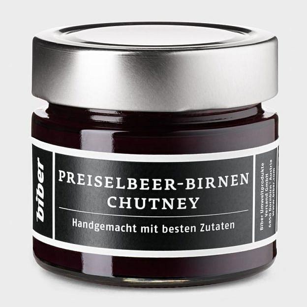 Preiselbeere-Birnen-Chutney