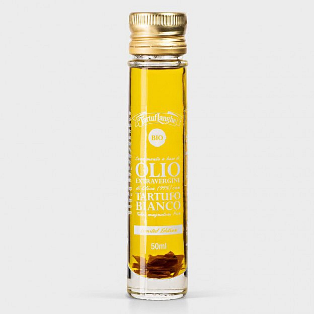 Bio-Trüffelöl vom weißen Alba-Trüffel