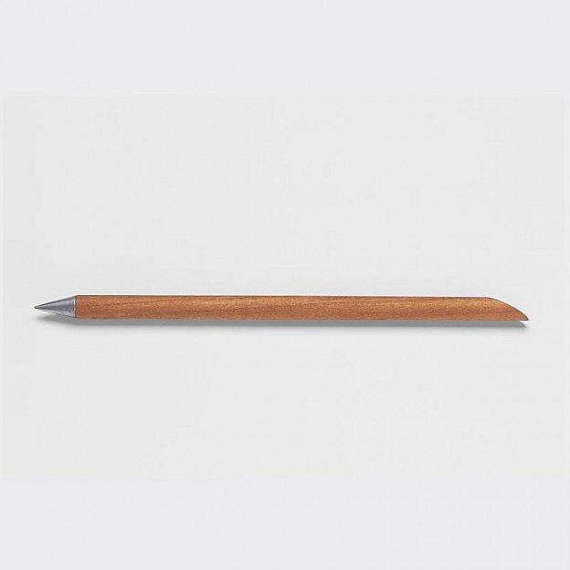 Schreibstift mit Dauermine und Kirschholzgriff
