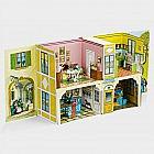 Biedermeier-Spielzeughaus 1840