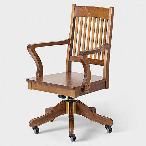 drehstuhl birke gebeizt. Black Bedroom Furniture Sets. Home Design Ideas