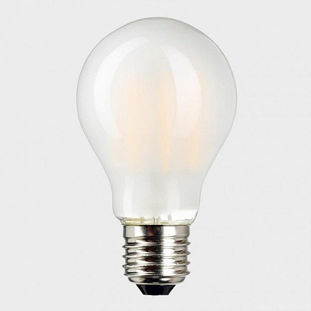 LED-Filament-Leuchtmittel matt (8 W=55 W), dimmbar