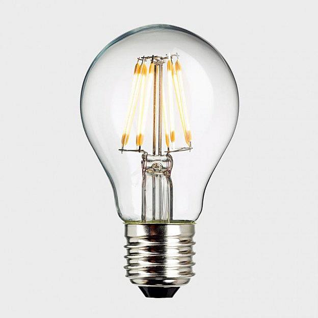 LED-Filament-Leuchtmittel (8 W = 57 W), klar