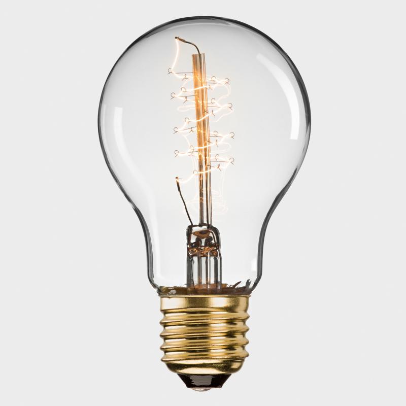 Glühbirne Deko deko metallfaden glühbirne 58 w biber com