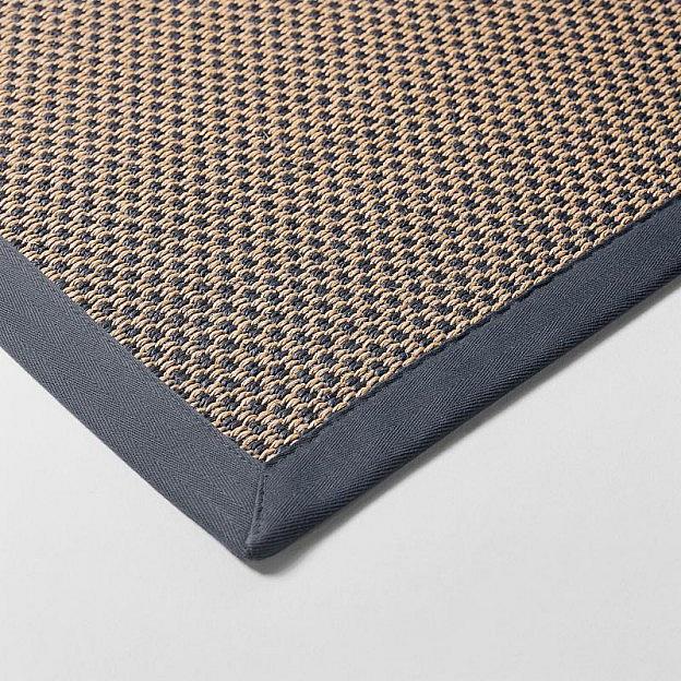 Teppich aus Sisal und Papier
