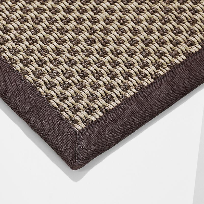 Teppich aus Sisal und Papier - Biber.com