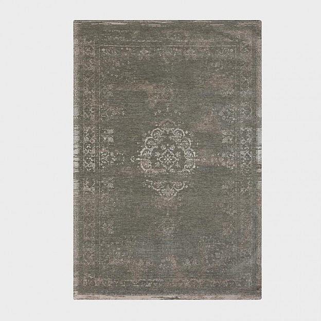 Vintage-Teppich klassisch, beige/grau, 140 x 200 cm