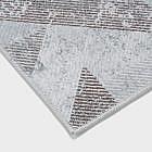 Vintage-Teppich geometrisch, braun, 200 x 300 cm
