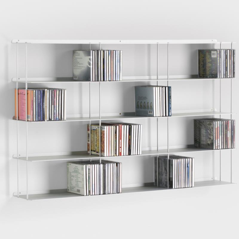 cd wandregal aluminium bestseller shop f r m bel und einrichtungen. Black Bedroom Furniture Sets. Home Design Ideas