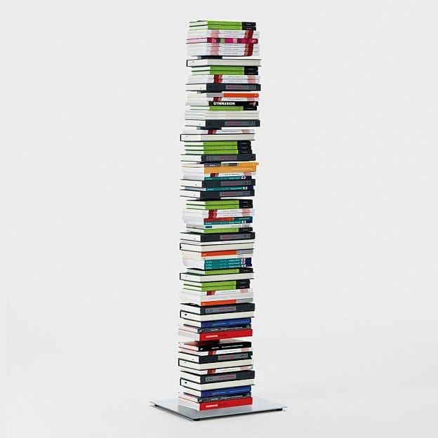 Bücherturm Stahl, 154 cm