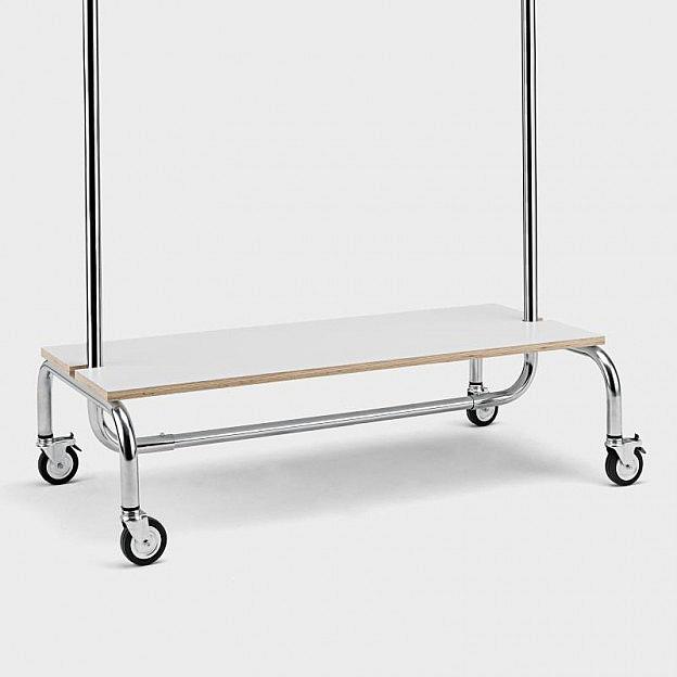 Ablagebrett für Kleiderständer 100 cm