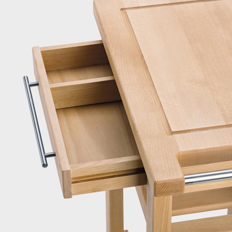Küchenwagen schmal aus Holz - Biber.com | {Küchenwagen schmal 55}
