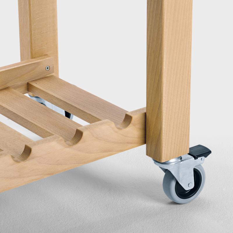Küchenwagen schmal aus Holz - Biber.com   {Küchenwagen schmal 50}