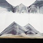 Sandbild Buche