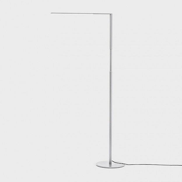 led leseleuchte aluminium dimmbar. Black Bedroom Furniture Sets. Home Design Ideas