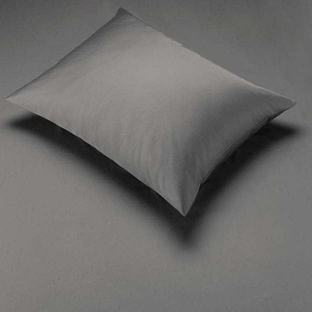 Bettbezug Baumwolle, anthrazit
