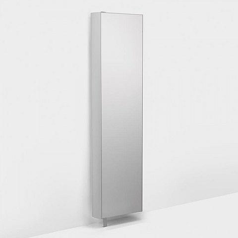 Drehregal mit spiegel wei 51 cm for Schuhregal mit spiegel