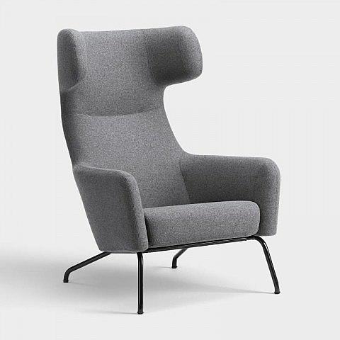 ohrensessel wollfilz grau. Black Bedroom Furniture Sets. Home Design Ideas