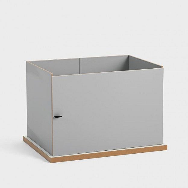 Boxenregal-Aufbaumodul